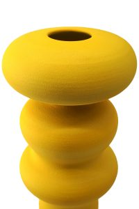 vaso in ceramica - crisalide - giallo limone - pantoù ceramics - 05_CRS_LY