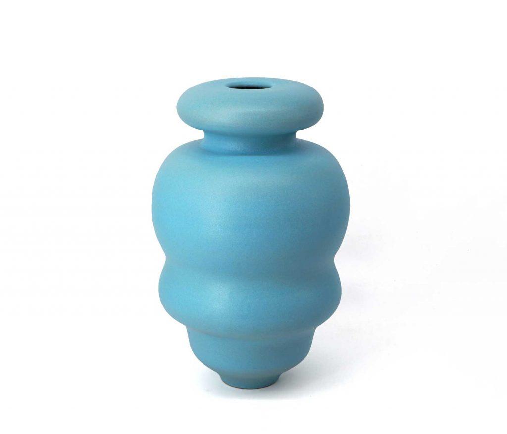 Vaso ceramica Azzurro cielo pantou ceramics Crisalide