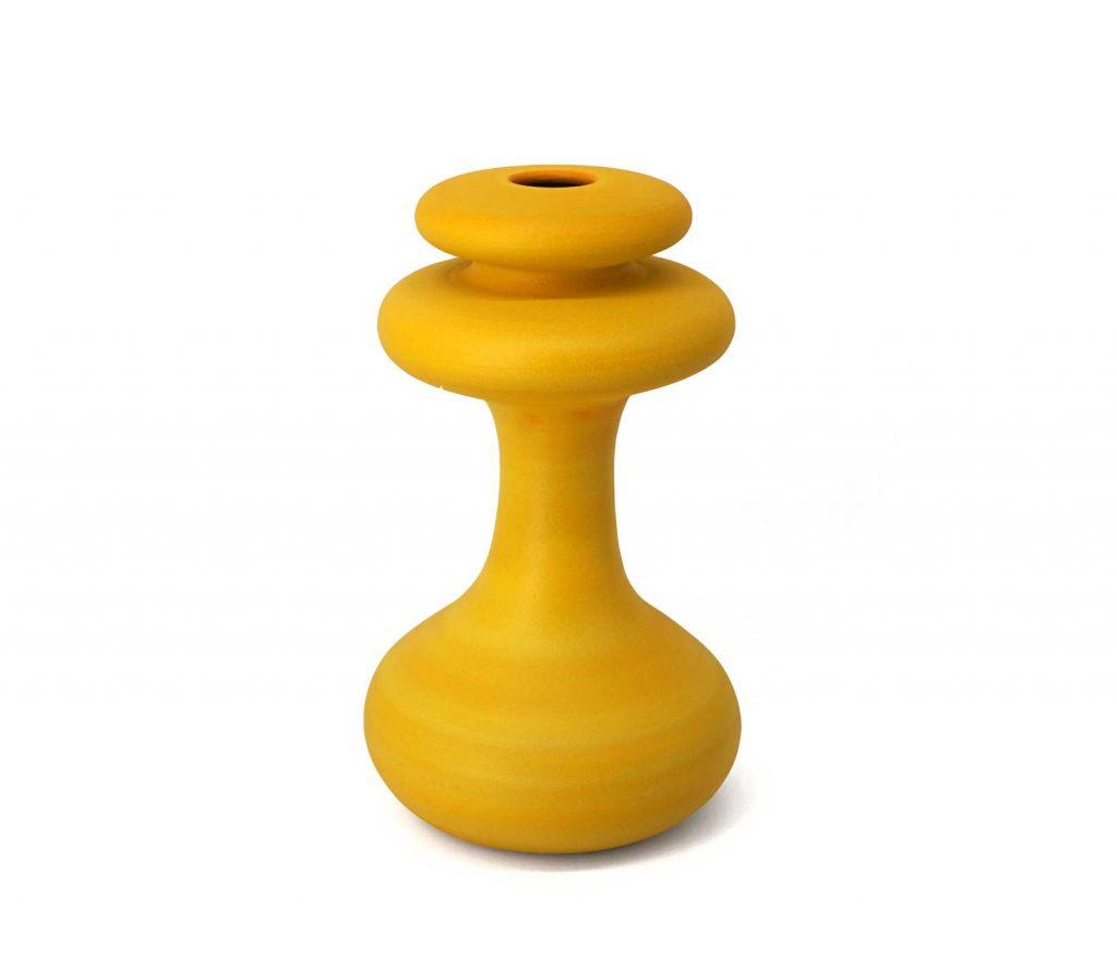Vaso-ceramica-Crisalide-Giallo-Limone-09-pantou-ceramics